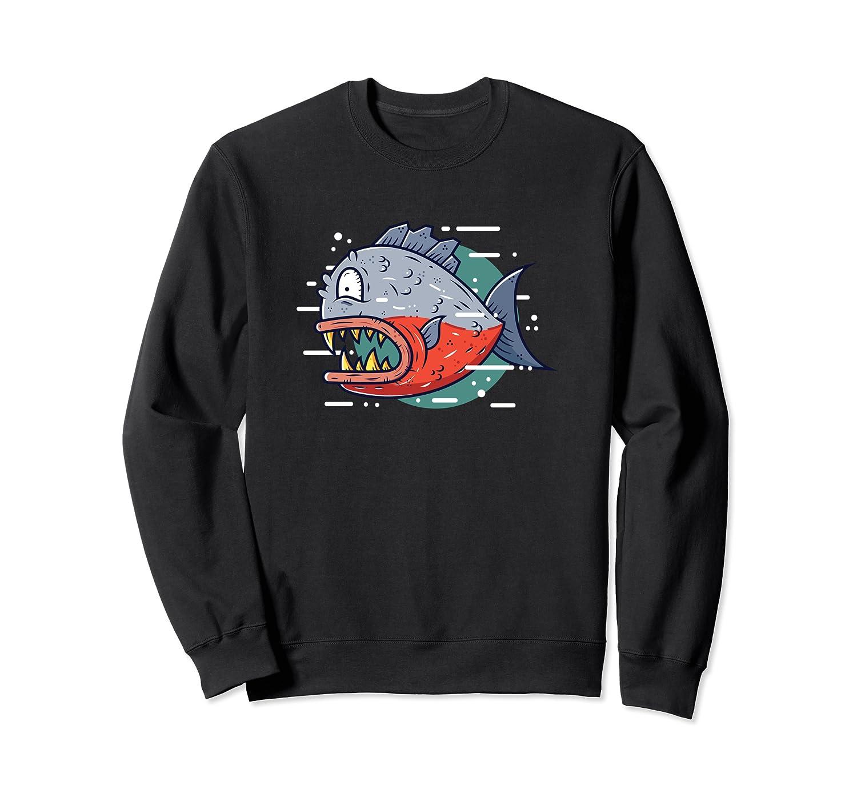RED BELLIED PIRANHA – fish wildlife nature animal Sweatshirt