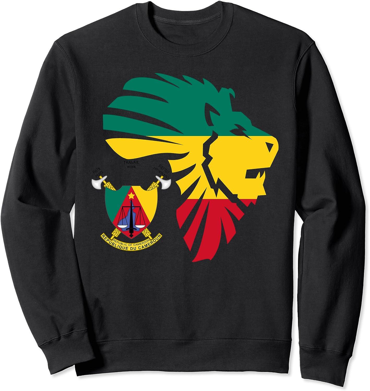 Cameroon Seal Lion Africa Sweatshirt 買取 Diaspora Gift 使い勝手の良い