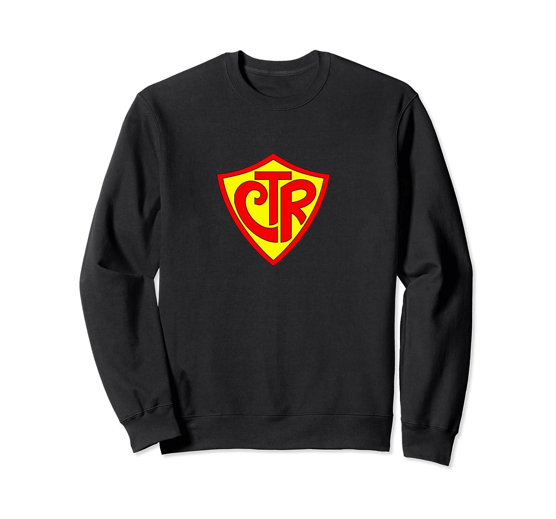 Super Ctr Logo Fun Latter Day Saint T Shirt Crewneck Sweater
