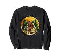 Sasquatch Drinking Team Drink Till You Believe Tshirt Sweatshirt Black