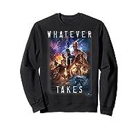Marvel Avengers Endgame Movie Poster Whatever It Takes T-shirt Sweatshirt Black