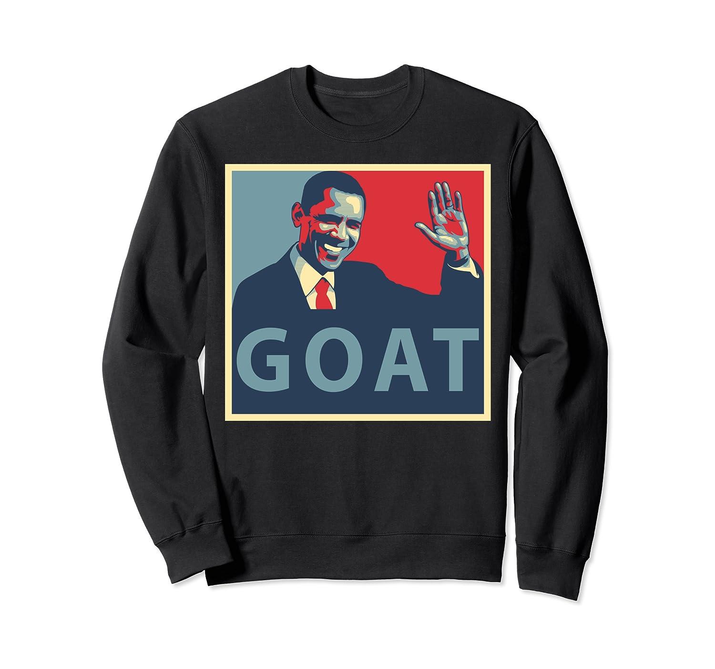 GOAT Barack Obama 44 President Sweatshirt