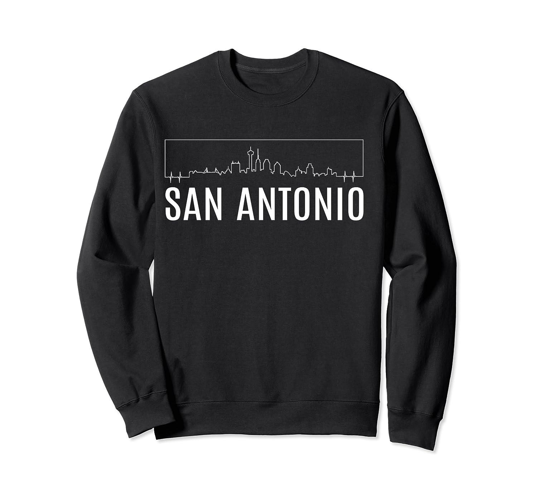 San Antonio Texas Skyline City Souvenirs Shirt Crewneck Sweater