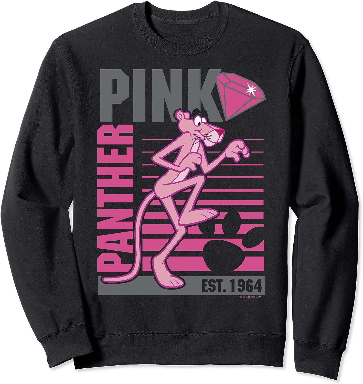 Pink Panther Lined Sweatshirt Portrait Austin Mall favorite
