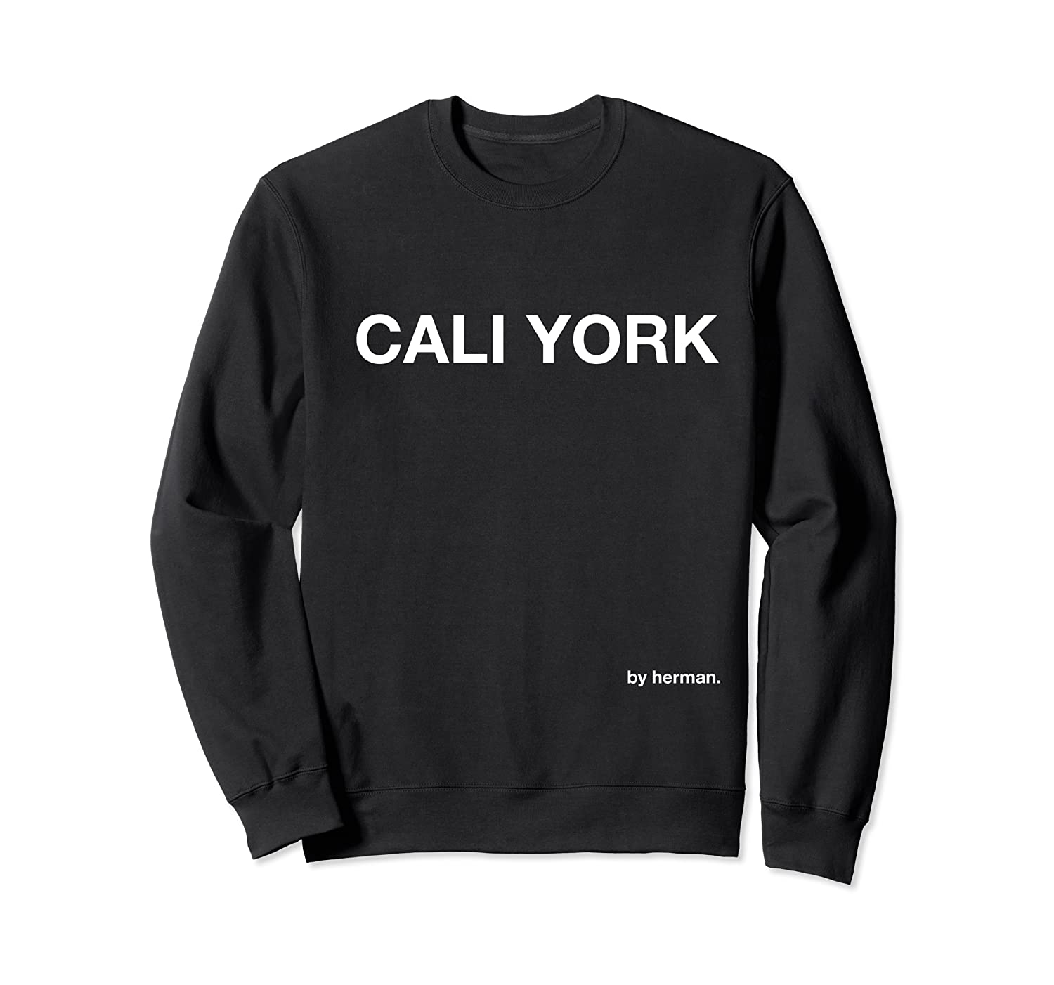 Cali York Sweatshirt Los Angeles// New York