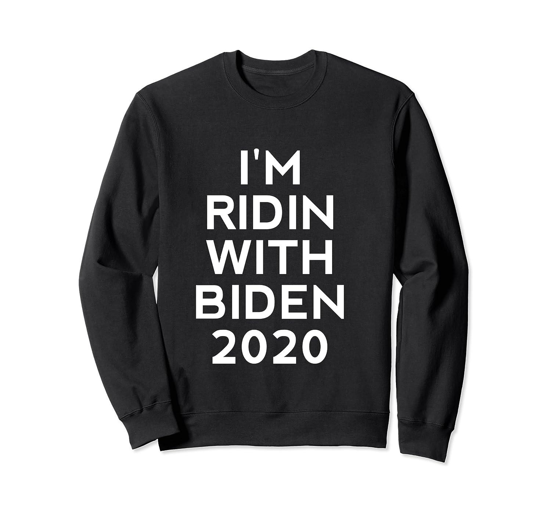 Ridin With Biden Shirt Vote Joe Biden For President 2020 Top T Shirt Crewneck Sweater