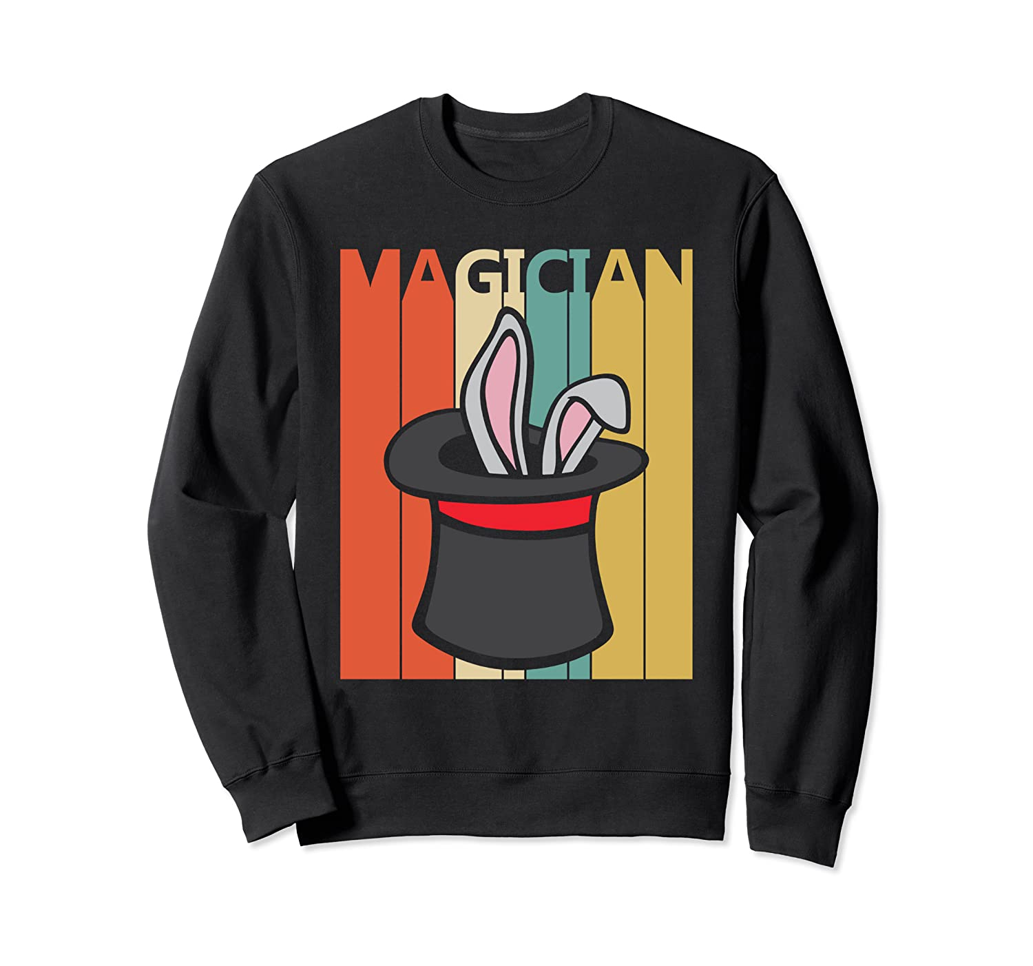 Magic Trick Rabbit Out Of A Hat Shirt Magician Gift