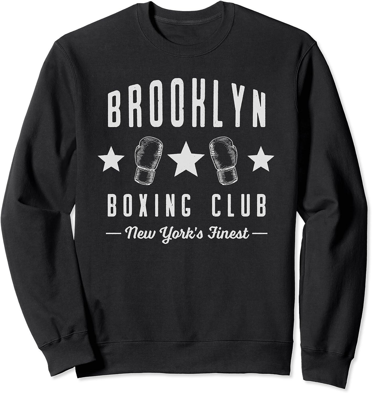 peanuts boxing club brooklyn Licence Sweatshirt Size M