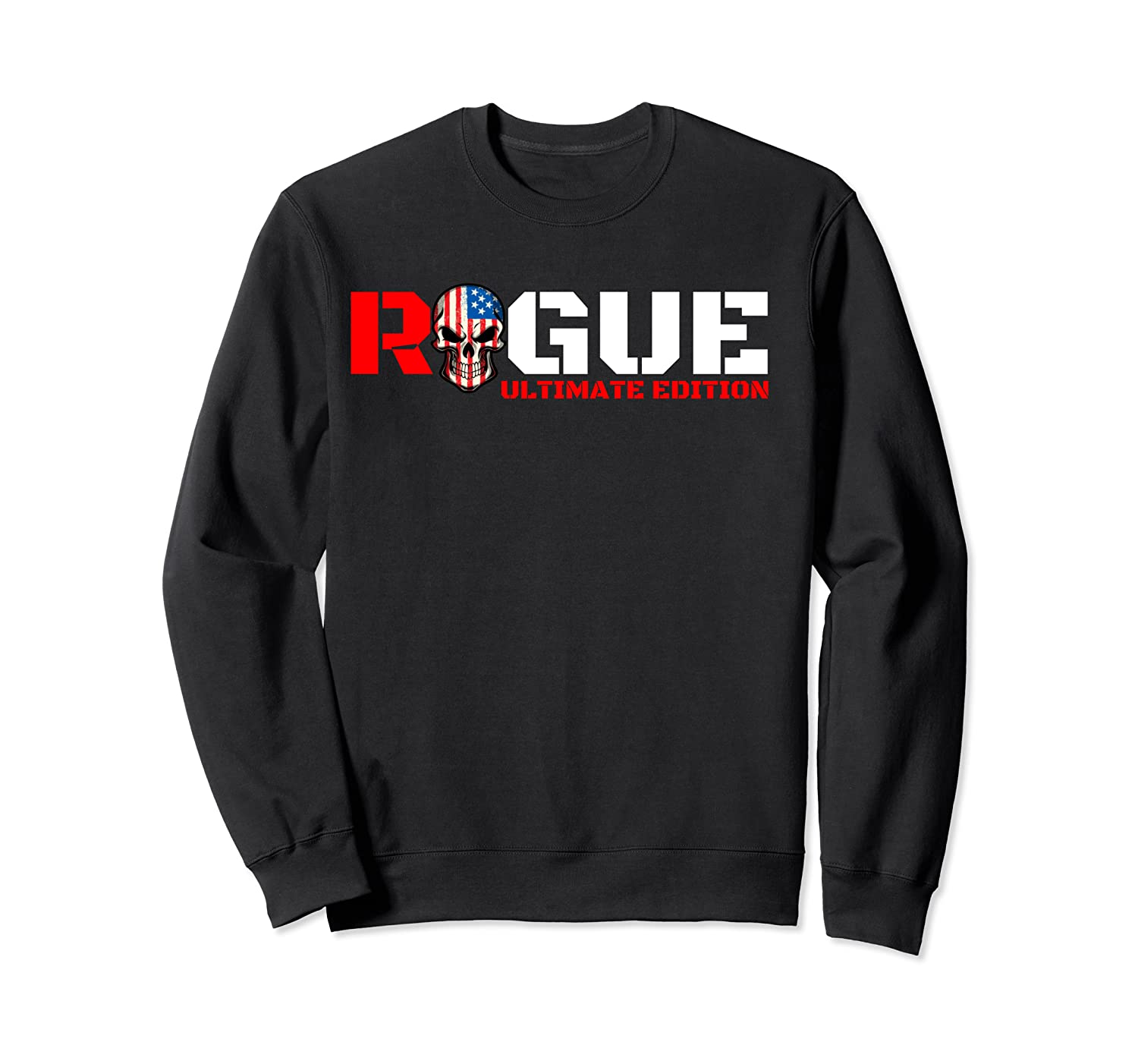 Rogue Cool Military Style Armed Forces Bad Boy Shirts Crewneck Sweater