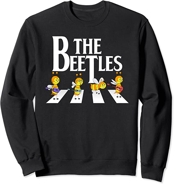 Der Käfer Lustige Bienen-Wächter-Liebhaber Beetles