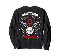 Saint James Buen Camino Way To Santiago De Compostela Gift Shirts Sweatshirt Black