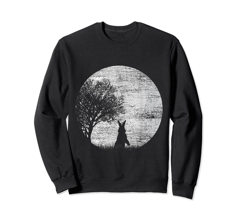 Nature Animal Gift Idea Easter Rabbit Moon Rabbit T Shirt Crewneck Sweater