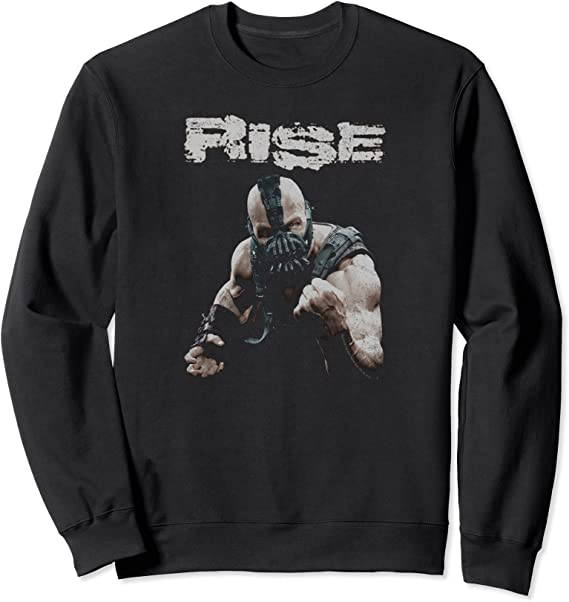 Batman Dark Knight Rises Bane Rise Langarmshirt
