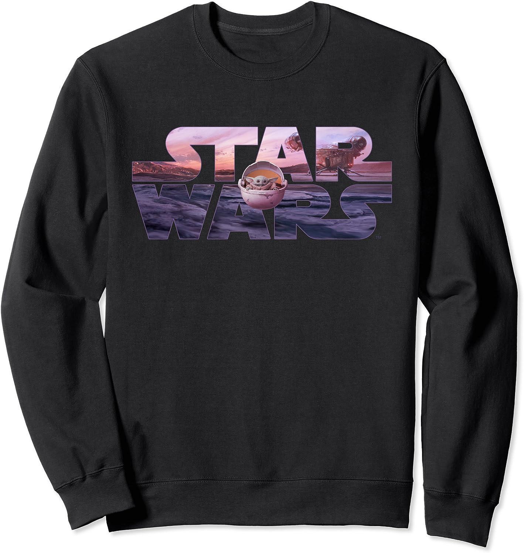 Star Wars The Mandalorian Razor Pod Floating Sweatshi Logo Ranking TOP19 Max 65% OFF Crest