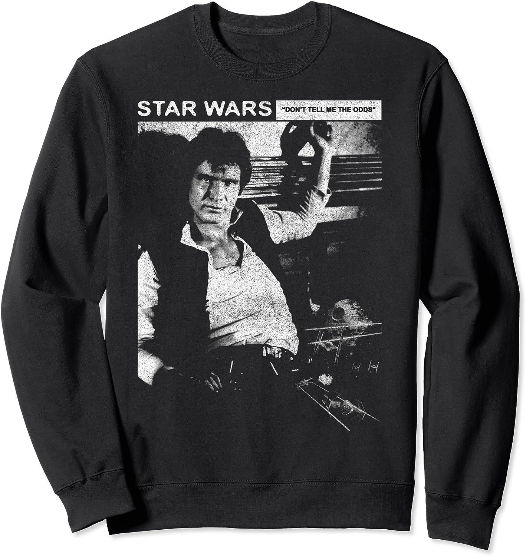 Star 買収 格安店 Wars Han Solo Distressed Portrait Sweatshirt