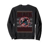 Black Widow Ugly Christmas Sweater Shirts Sweatshirt Black