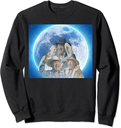 Amazon.com: Screaming Cowboy Meme Sweatshirt: Clothing