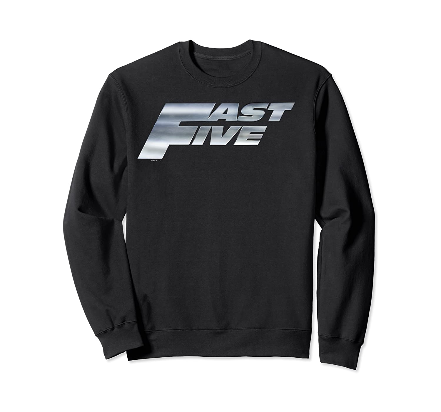 Fast Furious Five Steel Logo Pullover Shirts Crewneck Sweater
