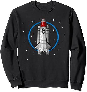 Navette spatiale rétro vintage inspirée de la NASA des Sweatshirt