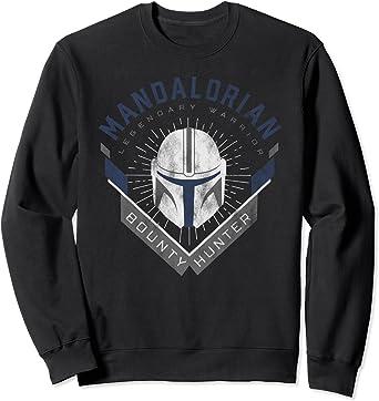 Star Wars The Mandalorian Legendary Warrior Bounty Hunter Sweatshirt