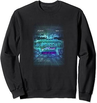 Stranger Things Mall Poster Sweatshirt