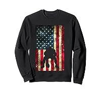 Flag Football Pittsburgh Lineman Gift Shirts Sweatshirt Black