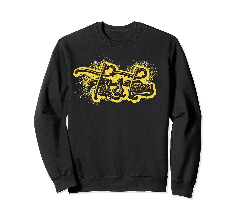 Fast Furious Grafi Logo Pullover Shirts Crewneck Sweater
