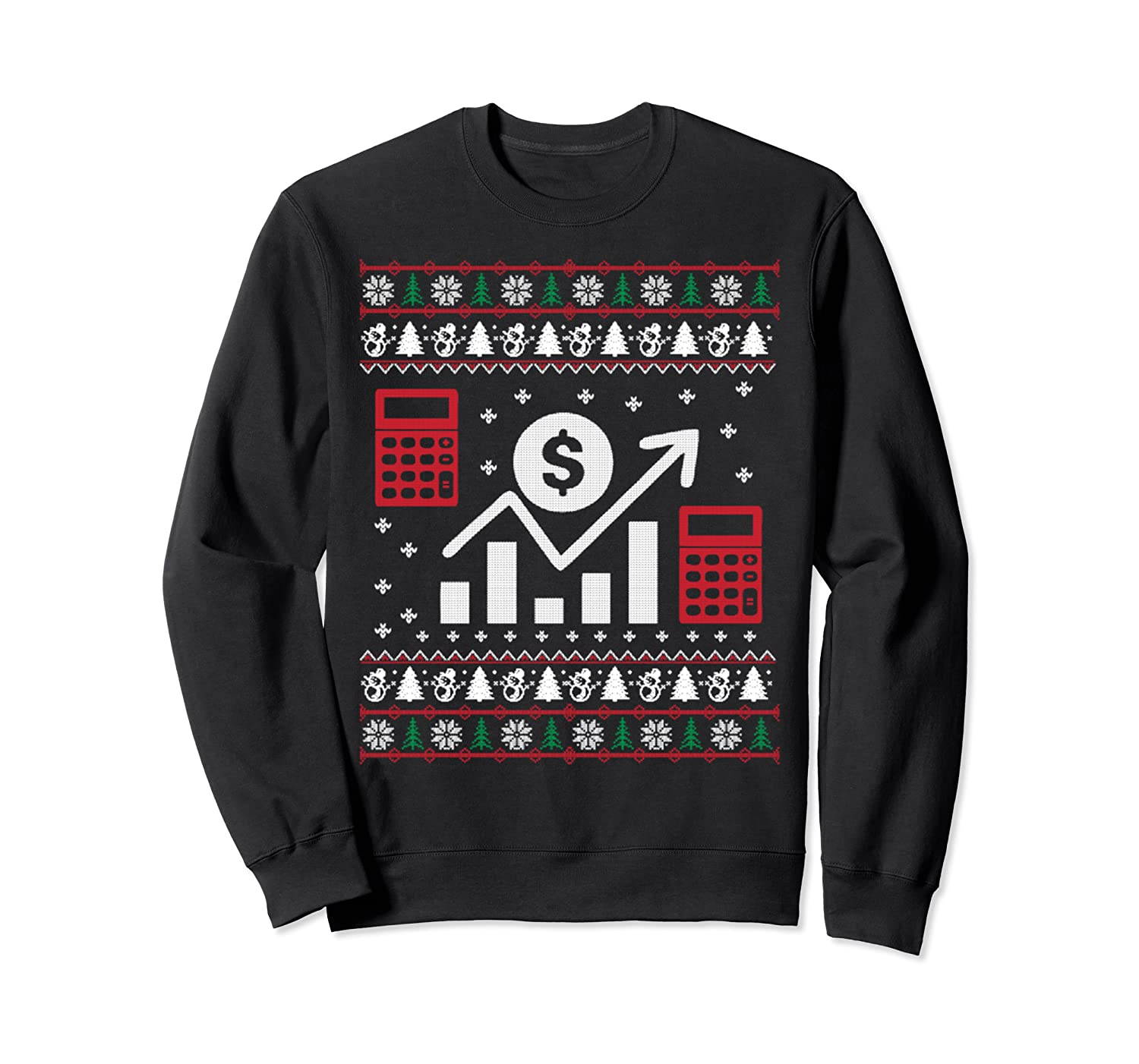 Accountant Ugly Christmas Sweater Gift Sweatshirt