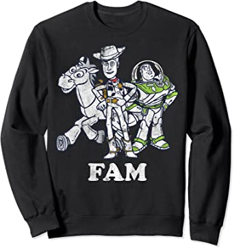 Disney Pixar Toy Story Buzz and Woody Family Sweatshirt