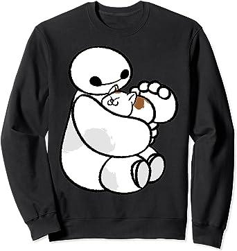 Disney Big Hero 6 Baymax Cat Cute Portrait Sweatshirt