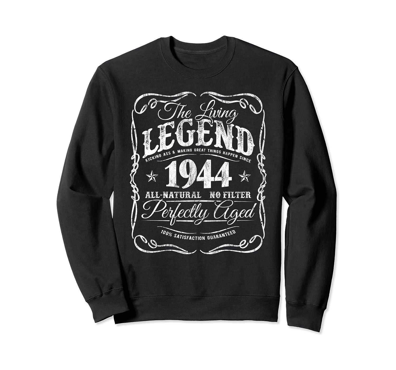 Vintage Legends Born In 1944 Classic 76th Birthday Gift f8 Sweatshirt