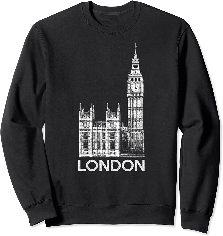 Souvenirs of London Sweatshirt for Women  Men