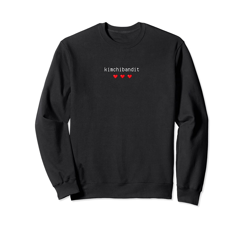 Korean T Shirt Kimchi Bandit Heart Love Gift K Pop Food Crewneck Sweater