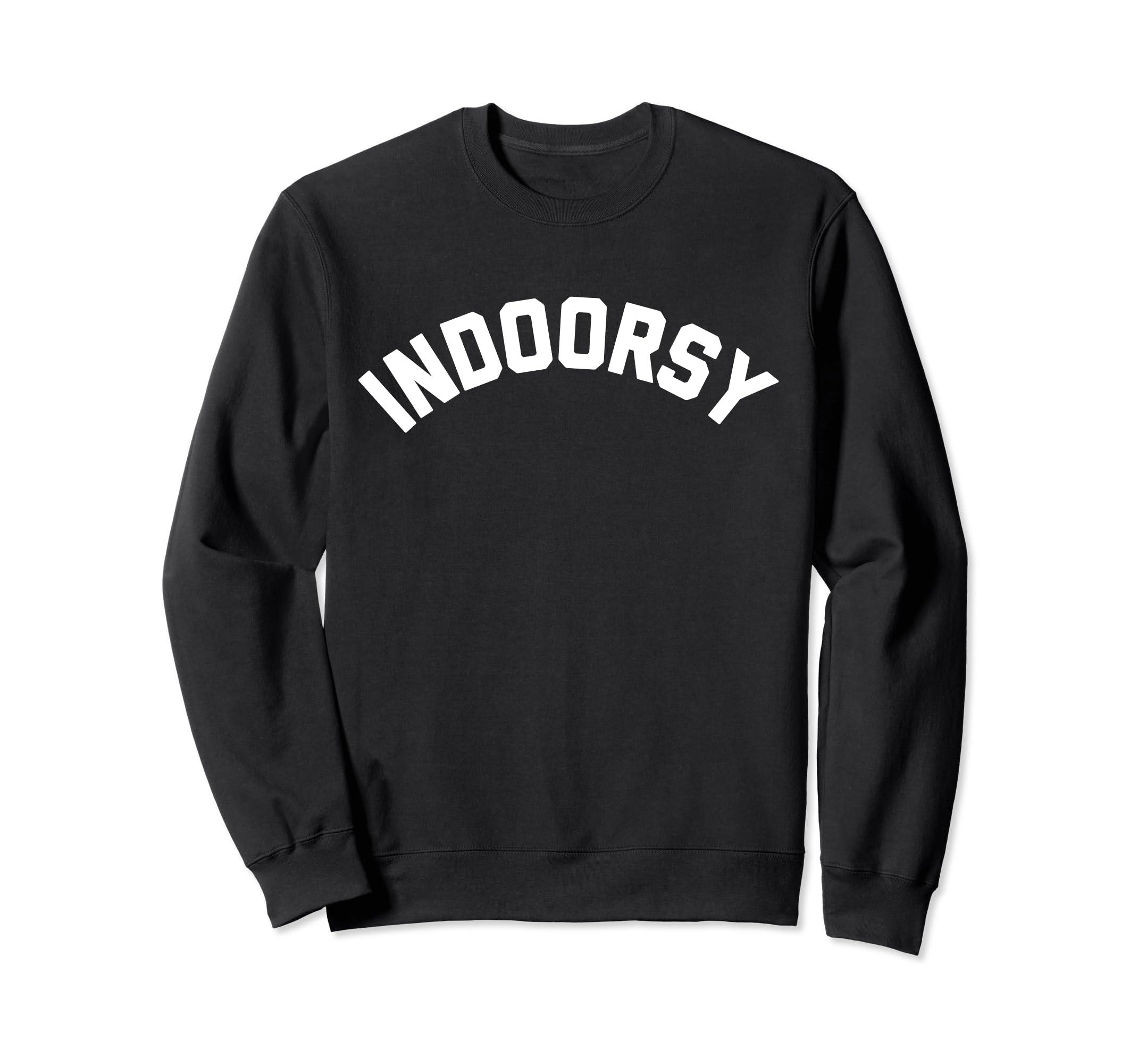 Indoorsy Glamping Sweatshirt-Teehay