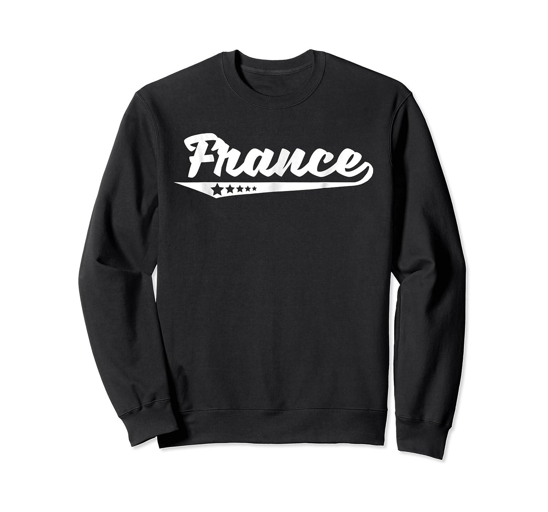Vintage France Stars Logo Retro French T-shirt Crewneck Sweater
