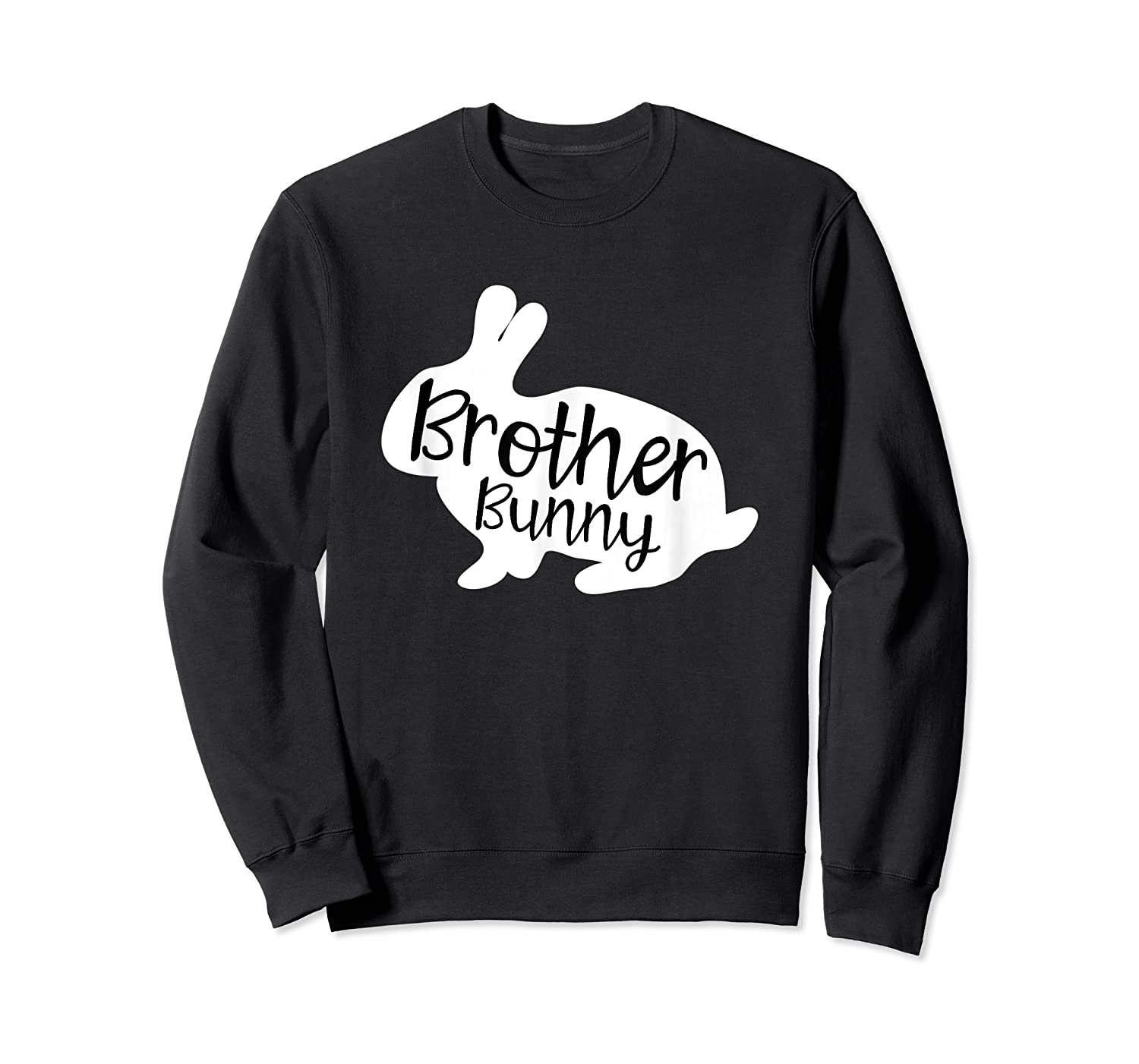 Brother Bunny Cute Rabbit Family Easter Gift Shirts Crewneck Sweater