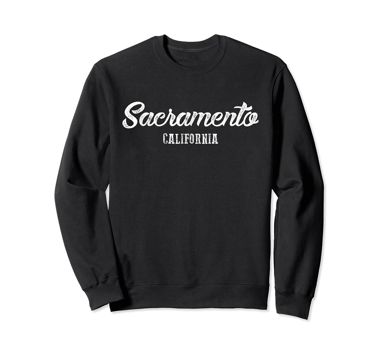 Sacrato California Souvenir Landmark Gif Shirts Crewneck Sweater