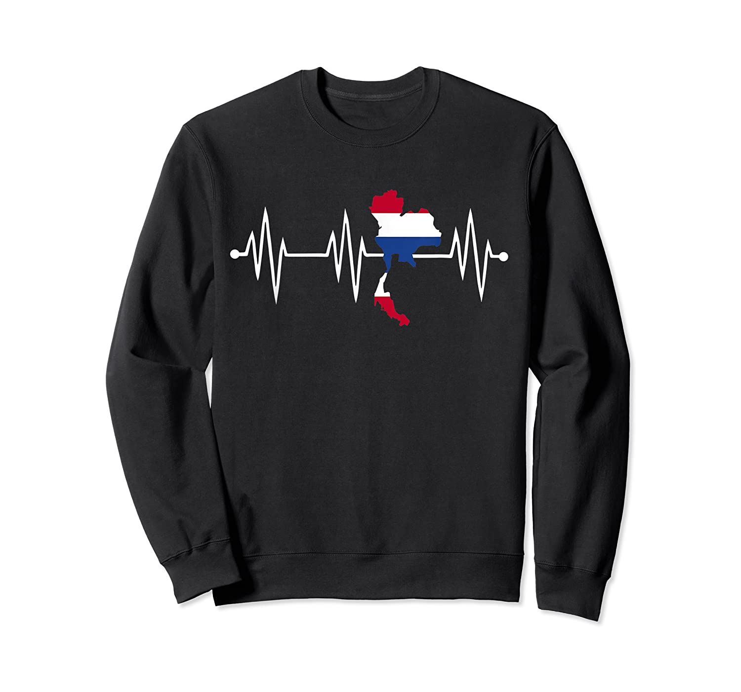 Heartbeat Thailand Shirt For And  Crewneck Sweater