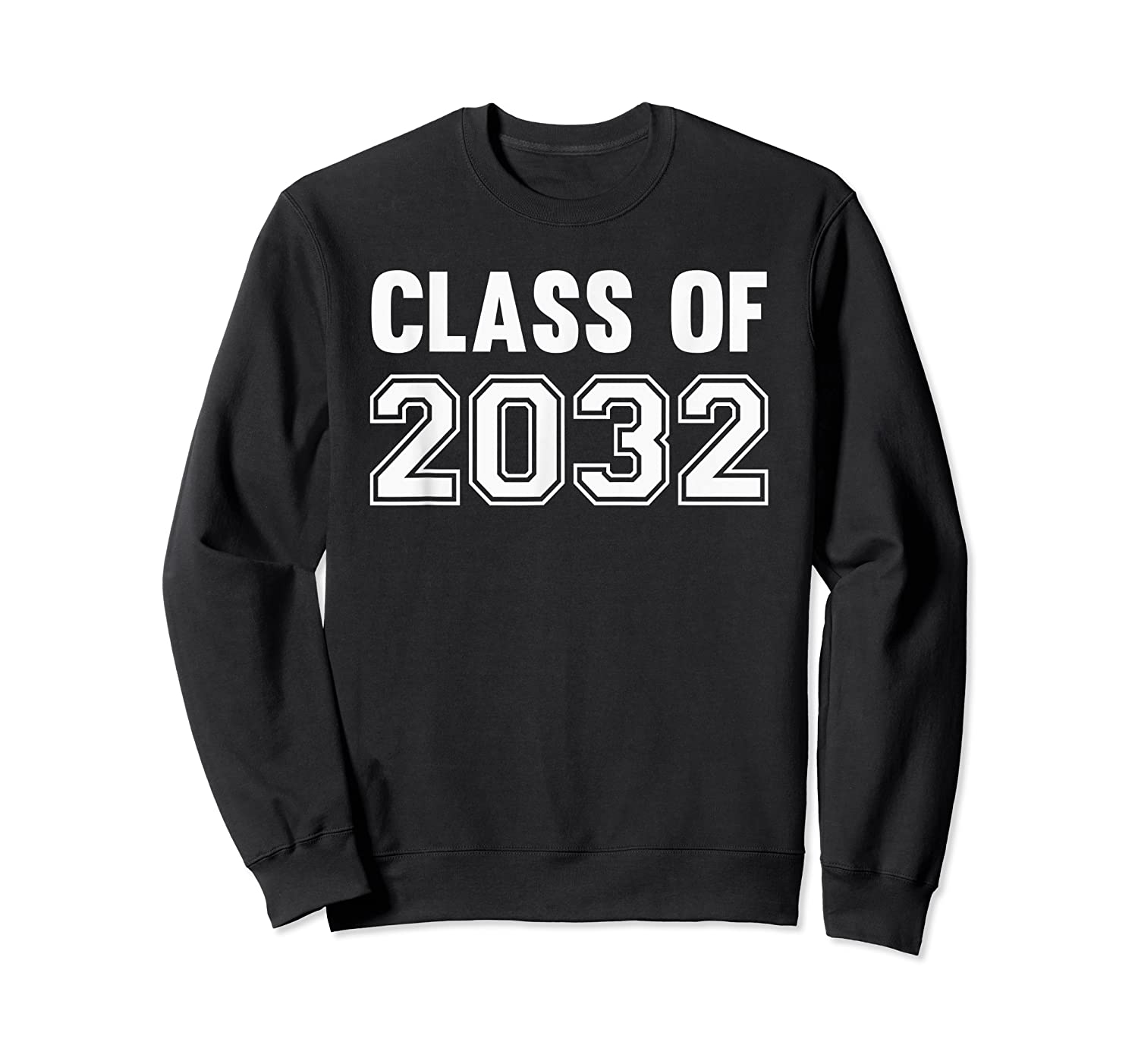 Class Of 2031 Grow With Me First Day Of School Shirts Crewneck Sweater