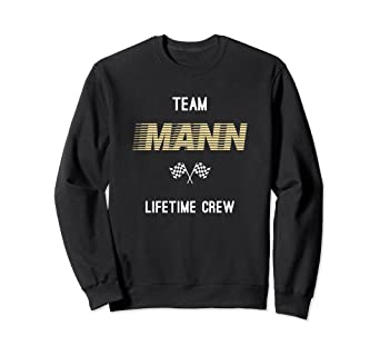 new styles 9d48e 4ba0e Amazon.com: Mann - Personalized Name Gifts Sweatshirt: Clothing
