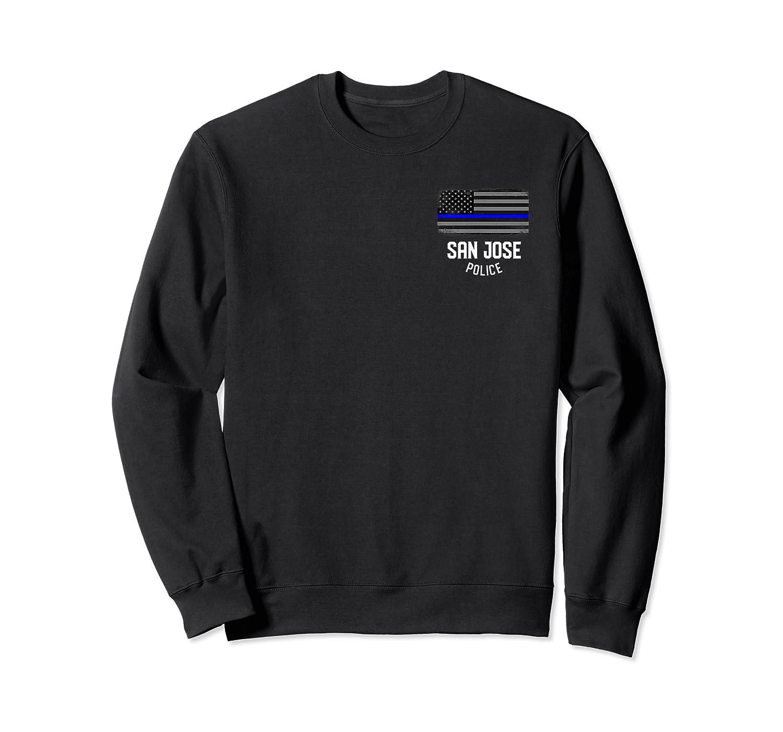 San Jose Police Officer California Policeman Duty T-shirt Crewneck Sweater