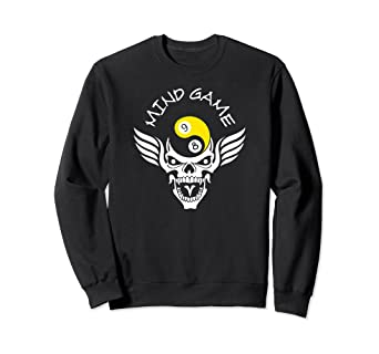 bb054f2792ca Amazon.com  Great Mind Game Pool Billiards T-Shirt   Gift Idea  Clothing