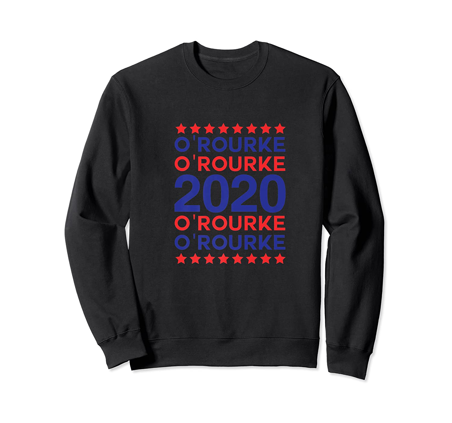 O'rourke 2020 Democrat Party Campaign Usa President Election Shirts Crewneck Sweater