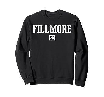 2d392f0c004e8 Amazon.com  Fillmore SF Sweatshirt Vintage San Francisco Sweats ...