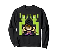 8 Bit Bayley Shirts Sweatshirt Black