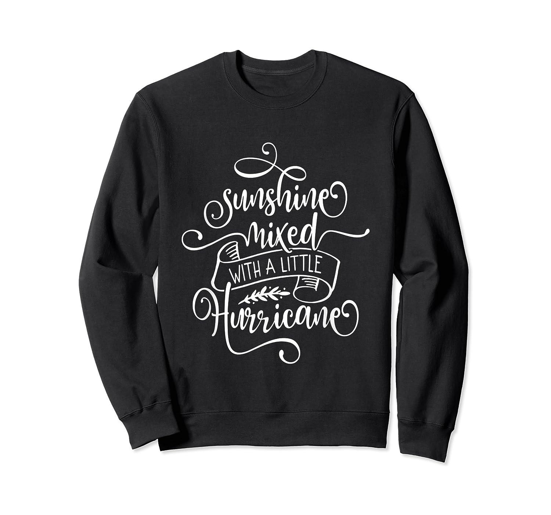 Sunshine Mixed Little Hurricane Shirts Crewneck Sweater