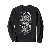 Grafi Tag Lettering Abc B-boy Streetart Urban Art T-shirt Sweatshirt Black