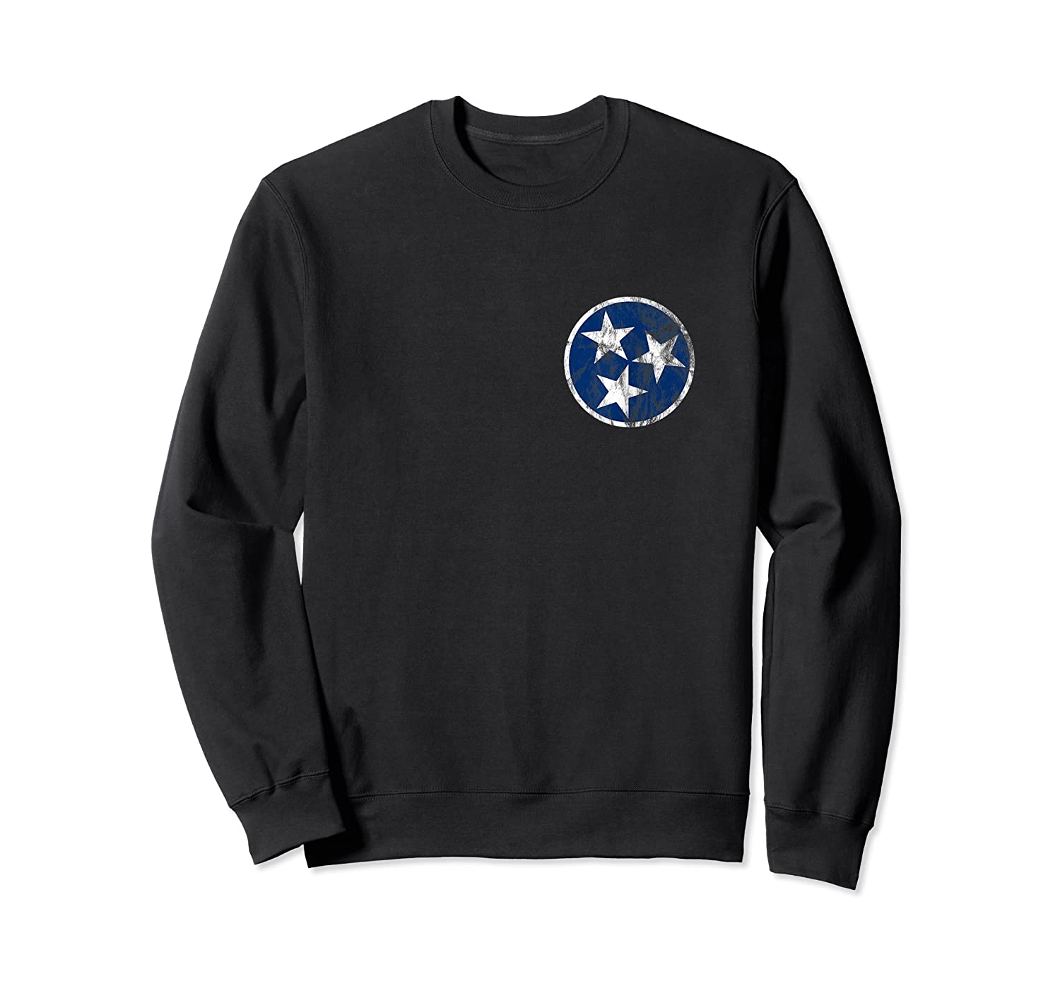 Tennessee State Flag Blue Stars Traditional Shirt Crewneck Sweater