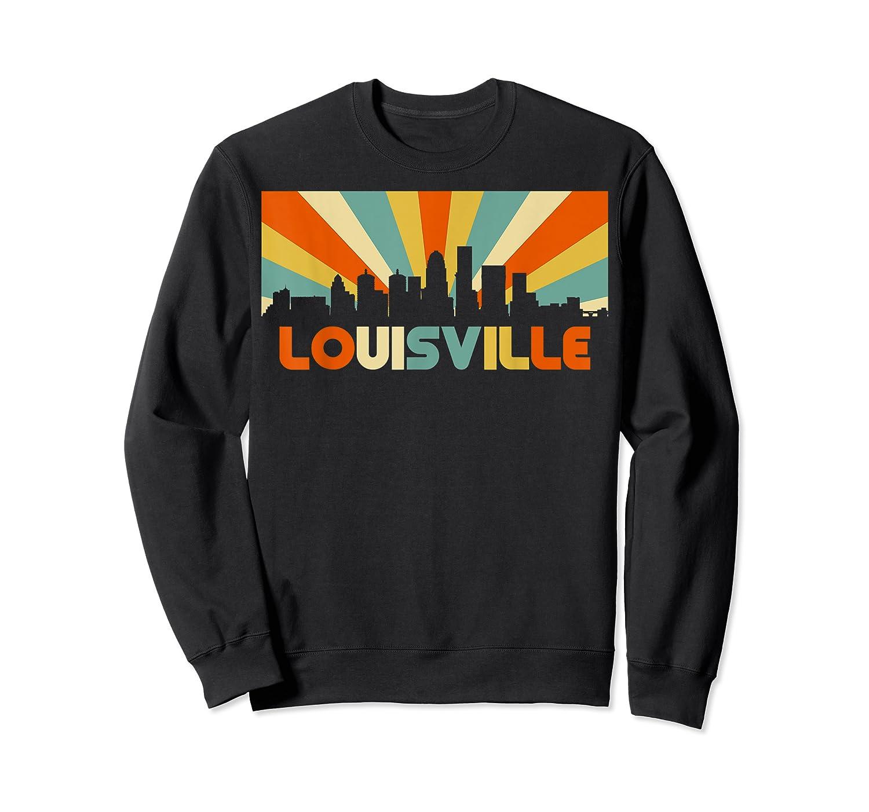 Louisville T Shirt City Skyline Retro 70s Souvenir Shirt Crewneck Sweater