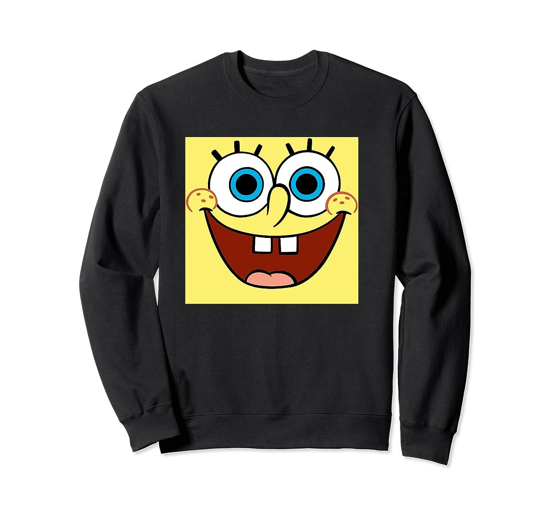 Nickelodeon Spongebob Open Smile Face T-shirt Crewneck Sweater